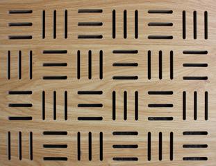 横竖条型孔吸音板