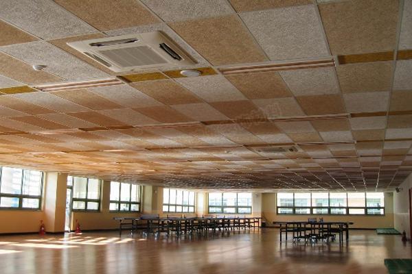木丝吸音板吊顶1