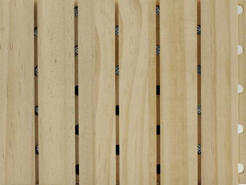 进口实木松木吸音板