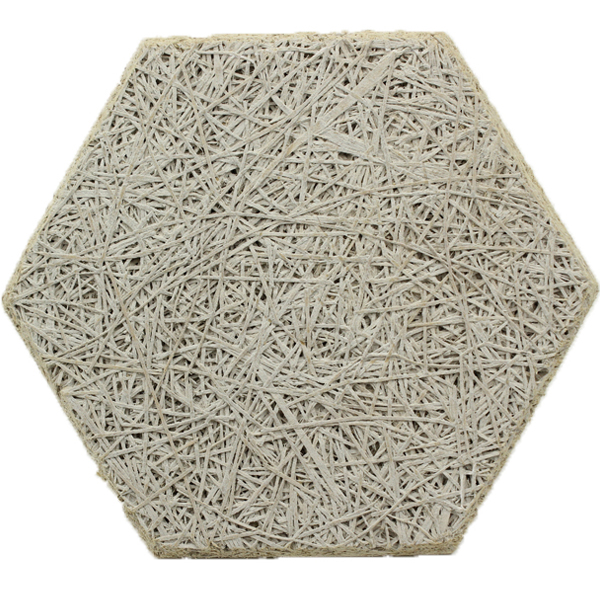 六边形木丝吸音板