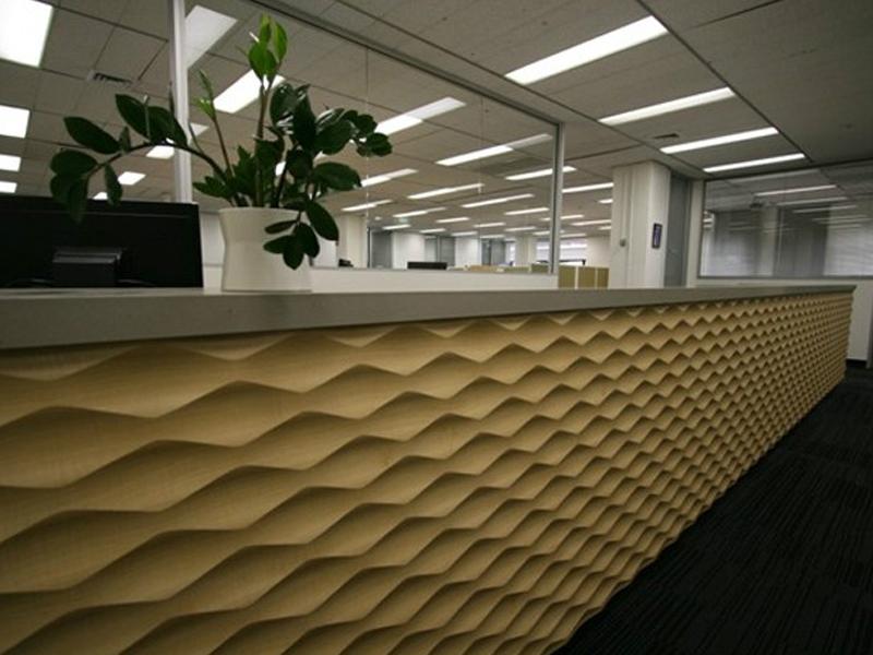 竹节纹波浪板