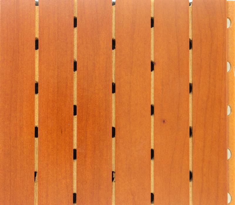 实木油漆面吸音板