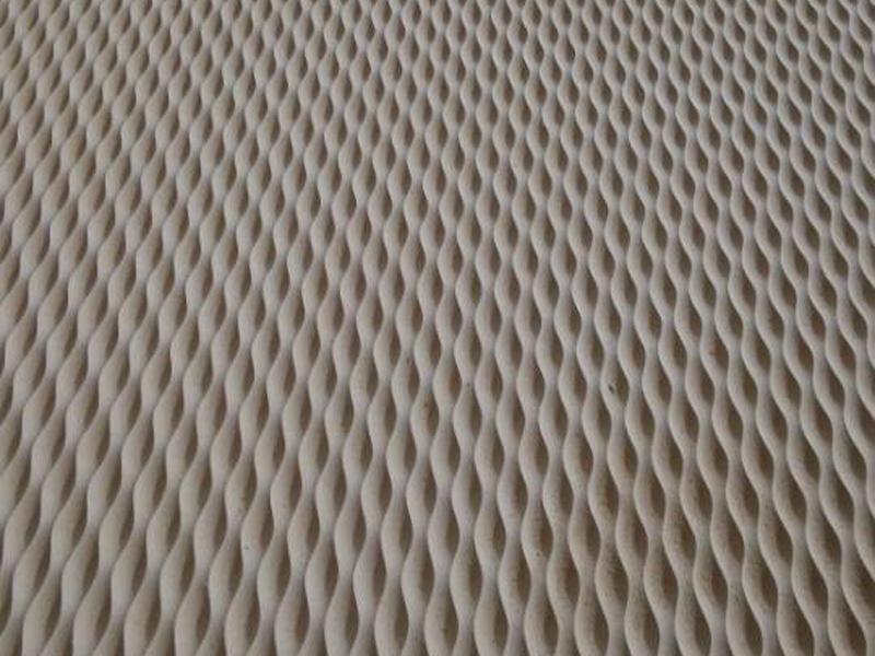 项链纹波浪板