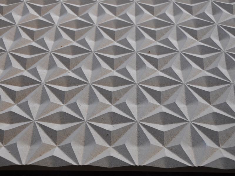波浪板砖石纹