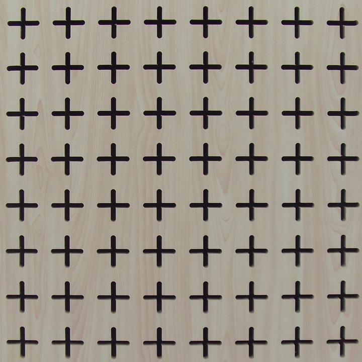 十字孔吸音板