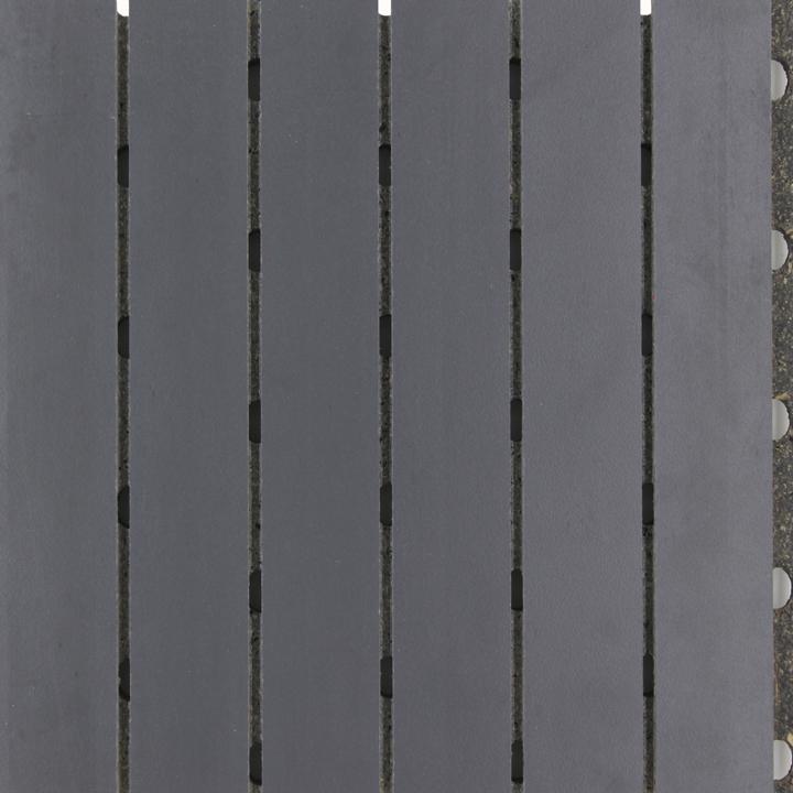 铁灰色阻燃A级陶铝吸音板