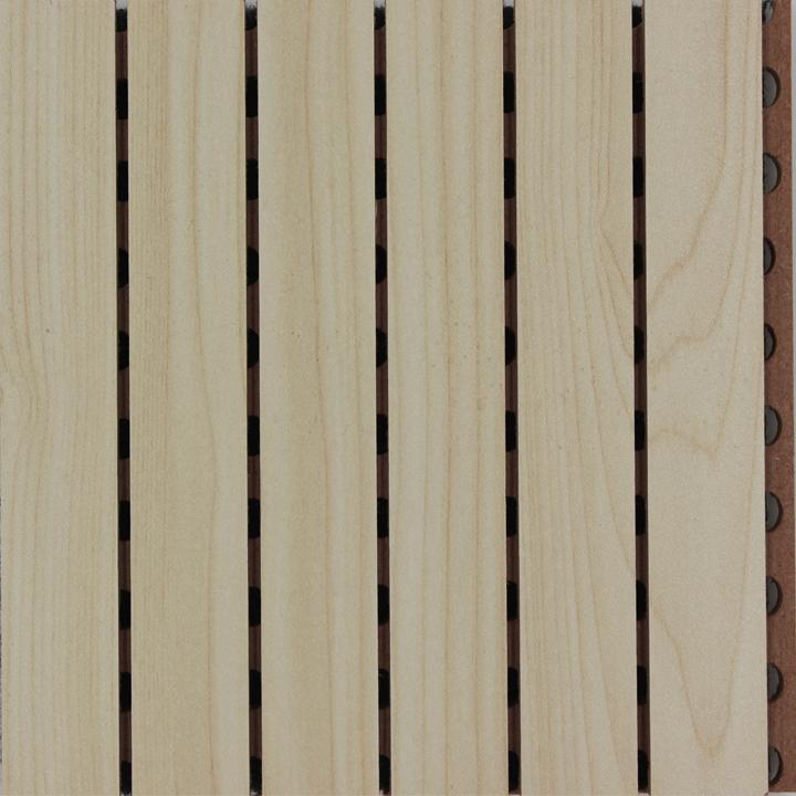 枫木色吸音板