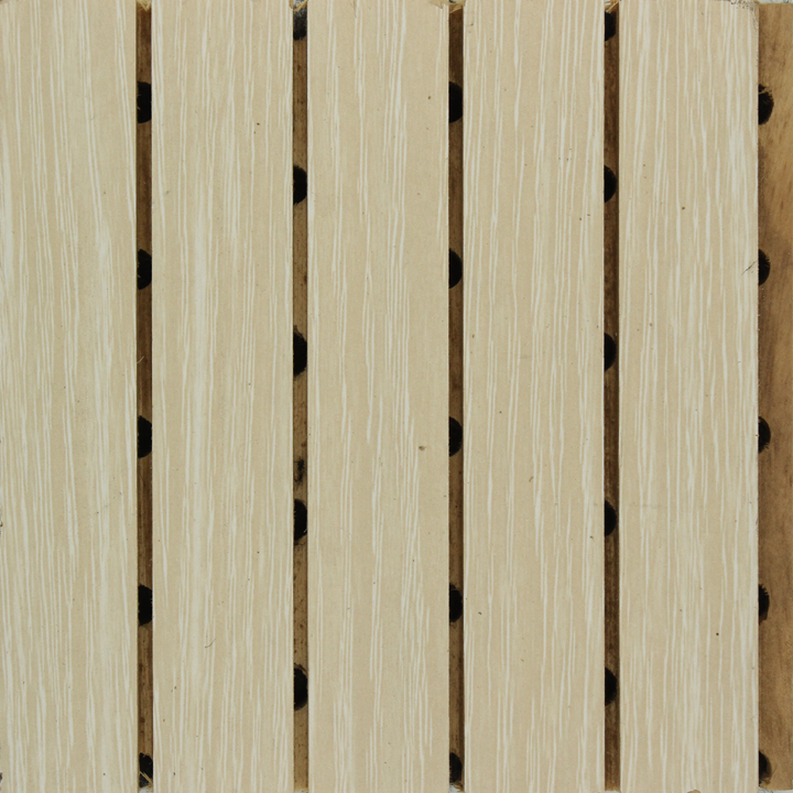 白橡色实木吸音板