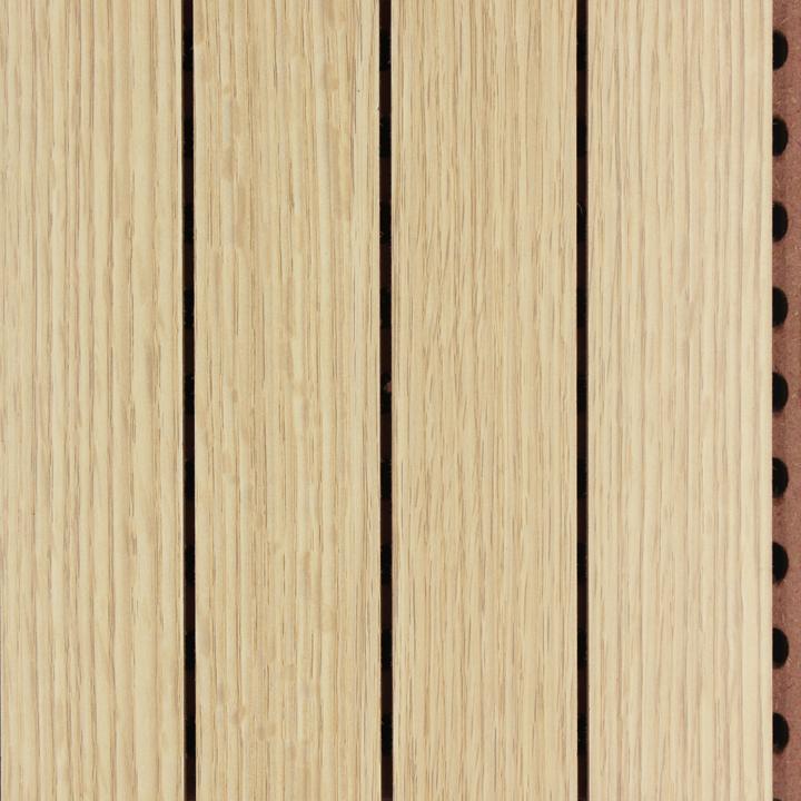 橡木色阻燃吸音板