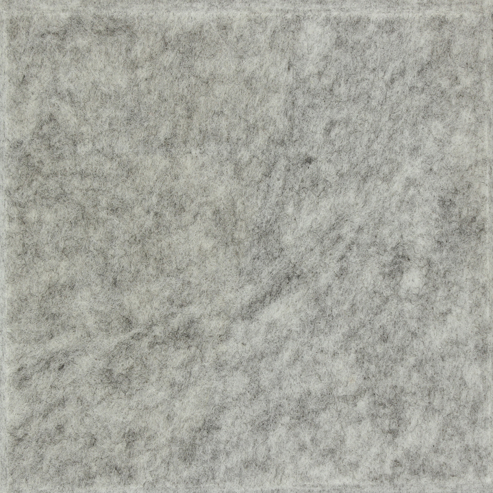 银灰色聚酯纤维吸音板