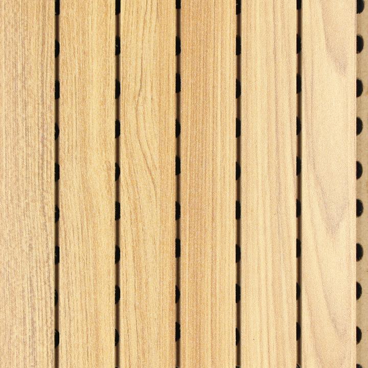 直纹柚木E0级吸音板