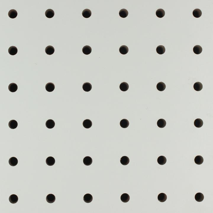 暖白色正方孔吸音板