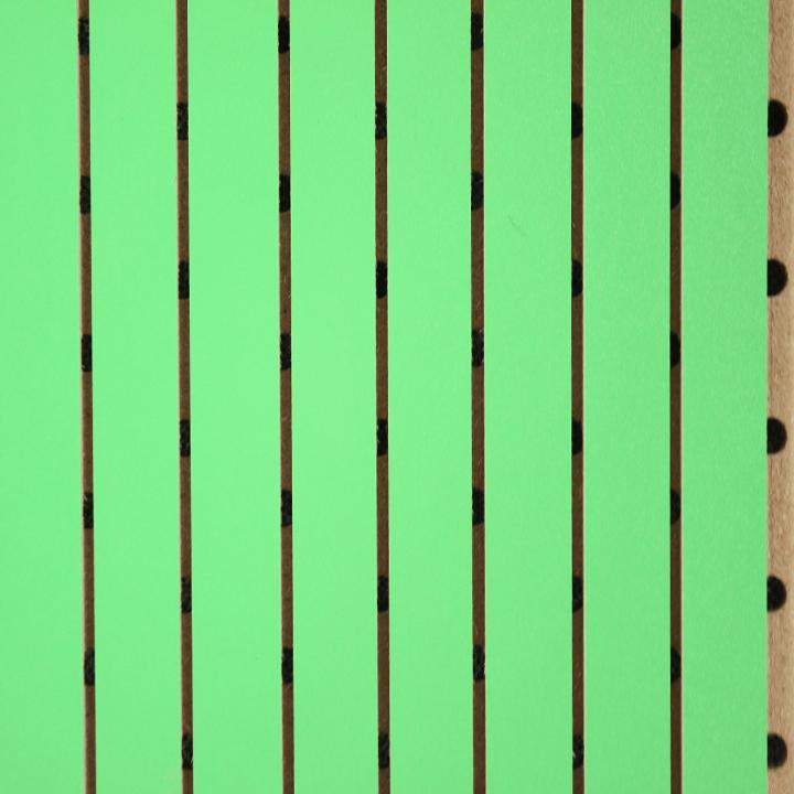 深果绿中条形吸音板