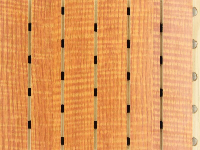 红影木实木吸音板