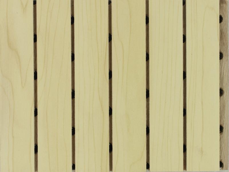 枫木色多层吸音板